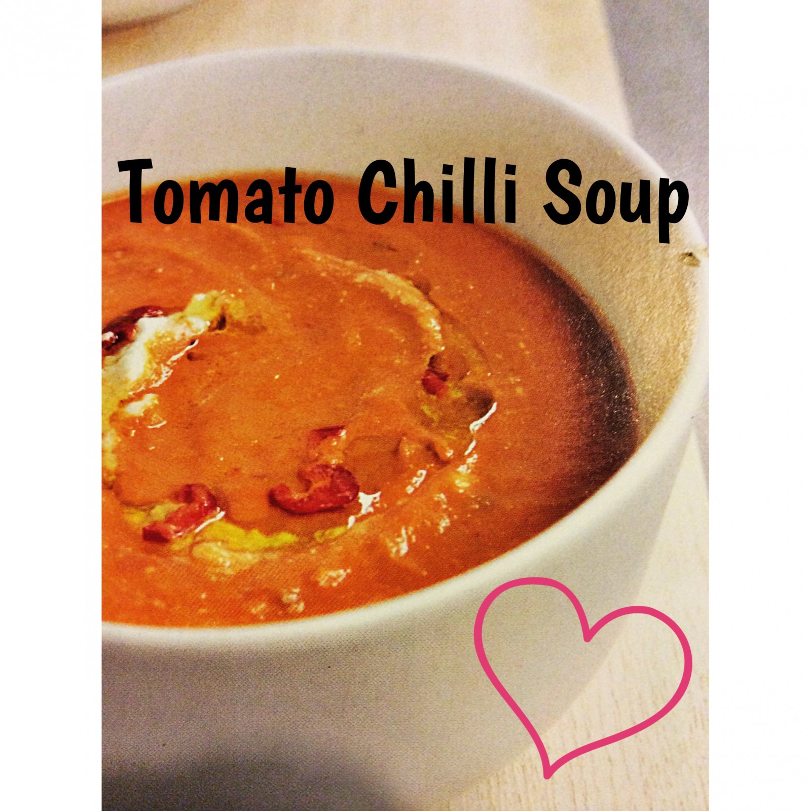 Cheerful Chilli Soup