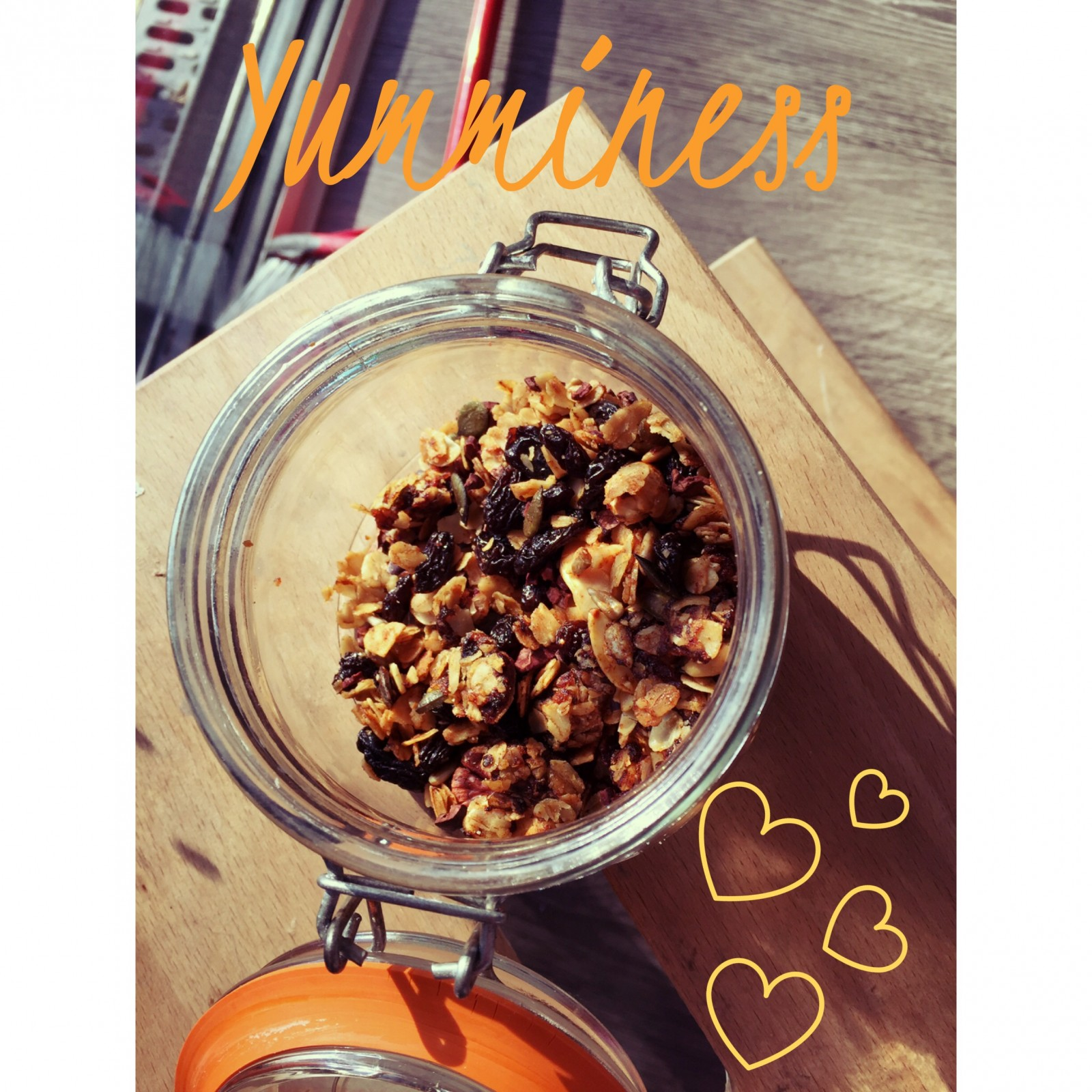The one about the dreaded lurgee & my fave granola.