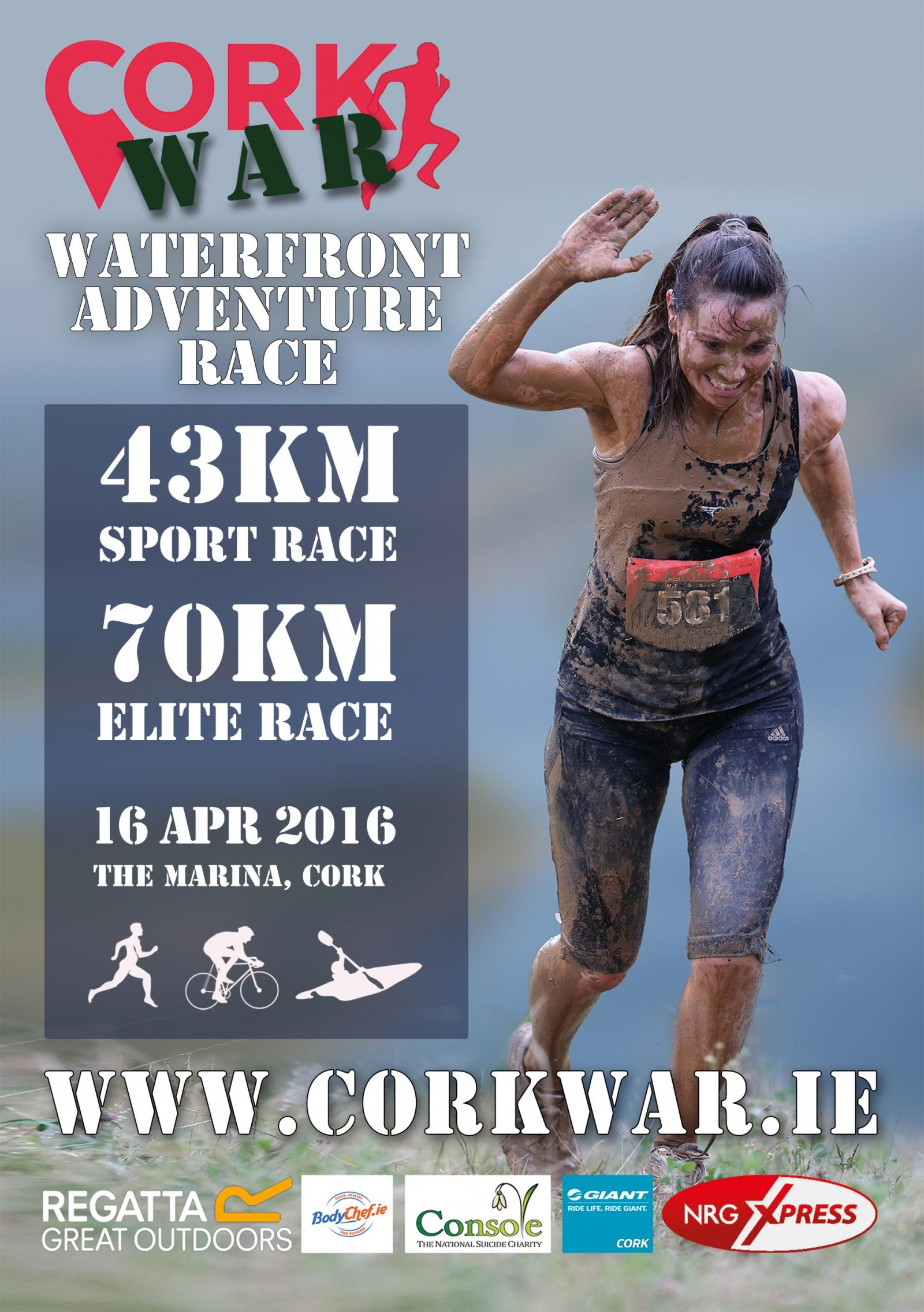 Cork War Poster with NRG Logo