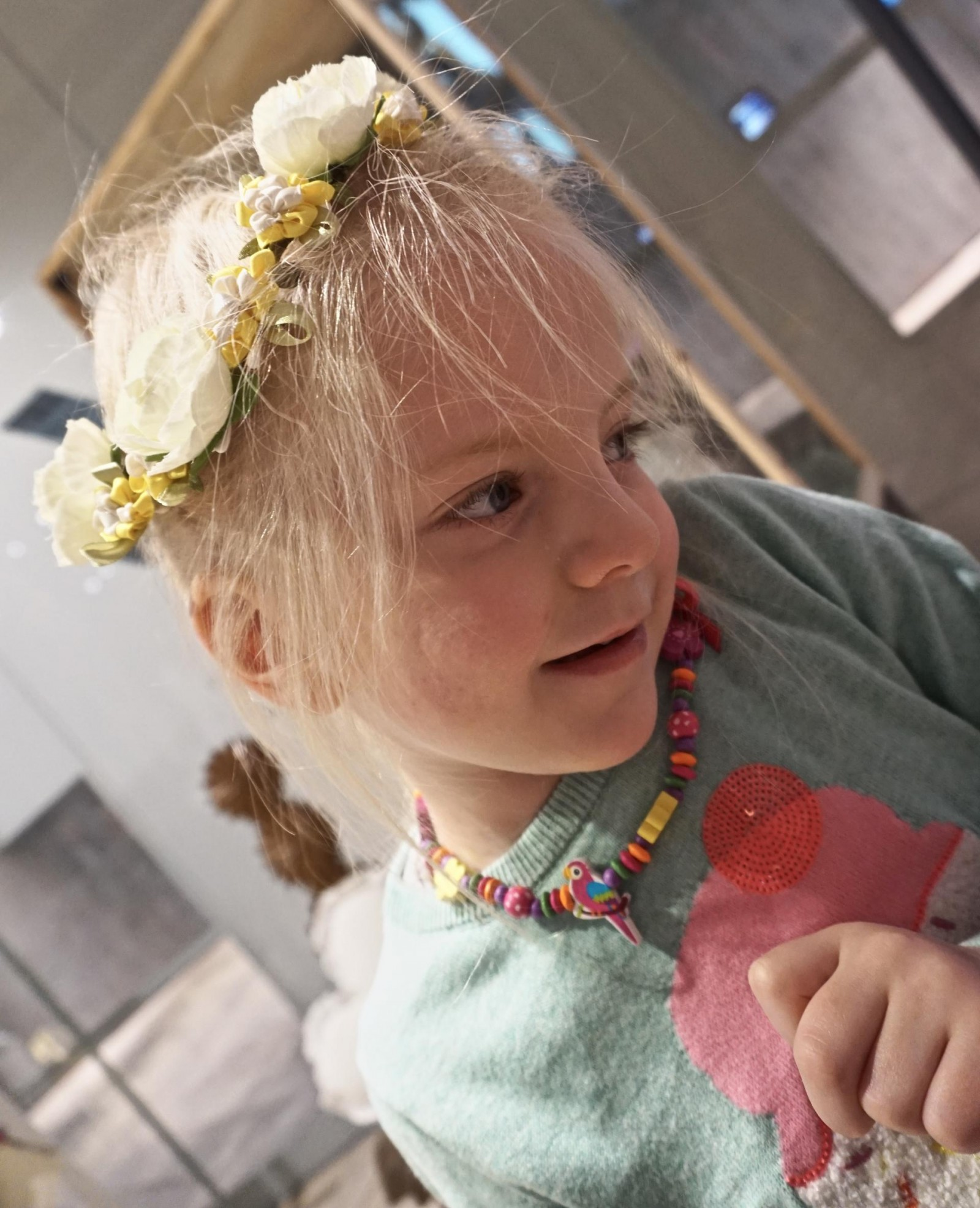 Primark faith flower headband