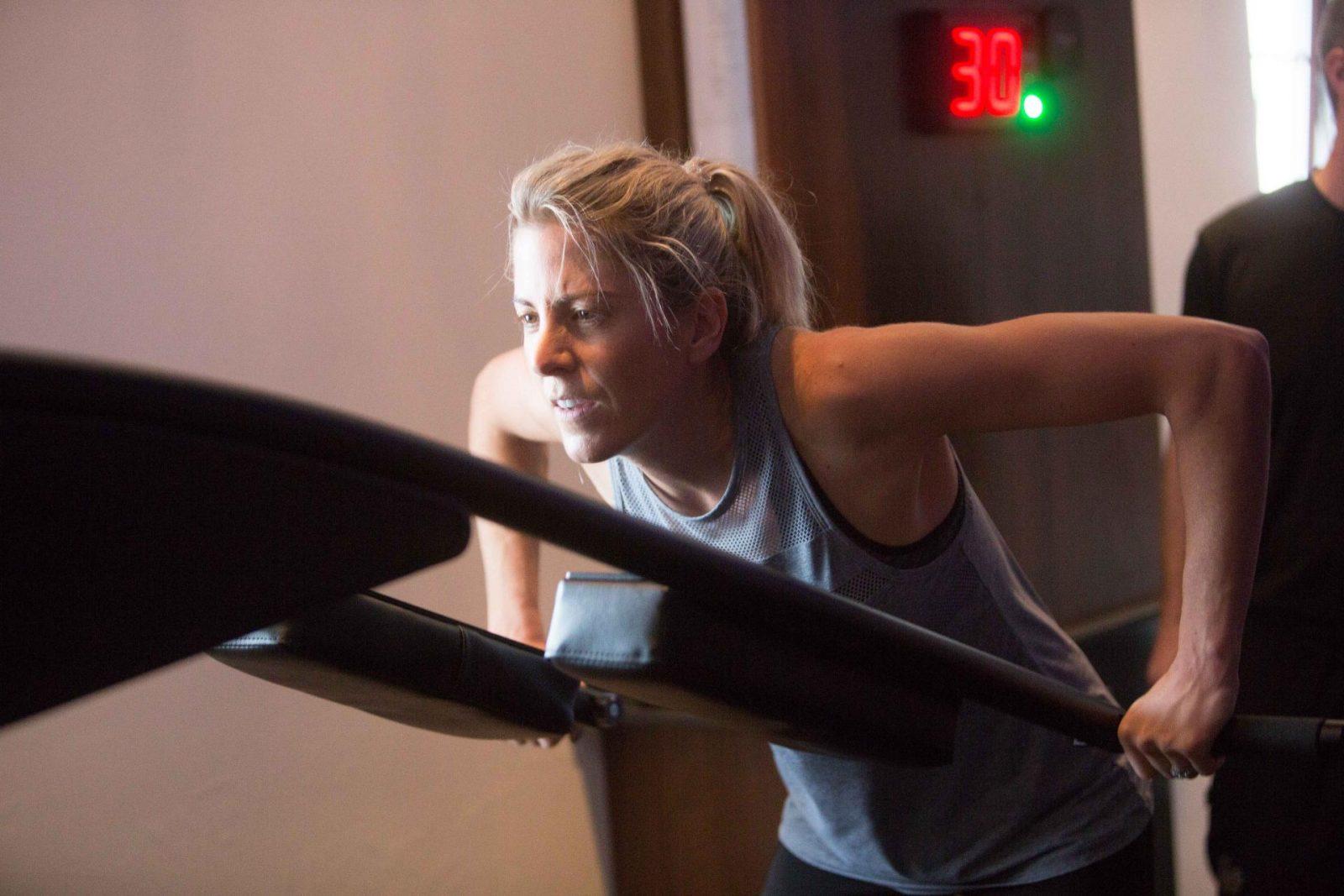 Speedflex workout with Alan Shearer & Leanmeanmomma