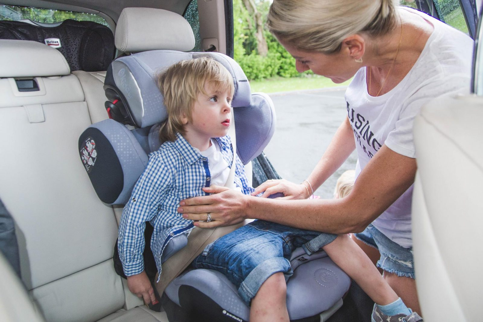 Going from A to B with Kiddy UK car seat