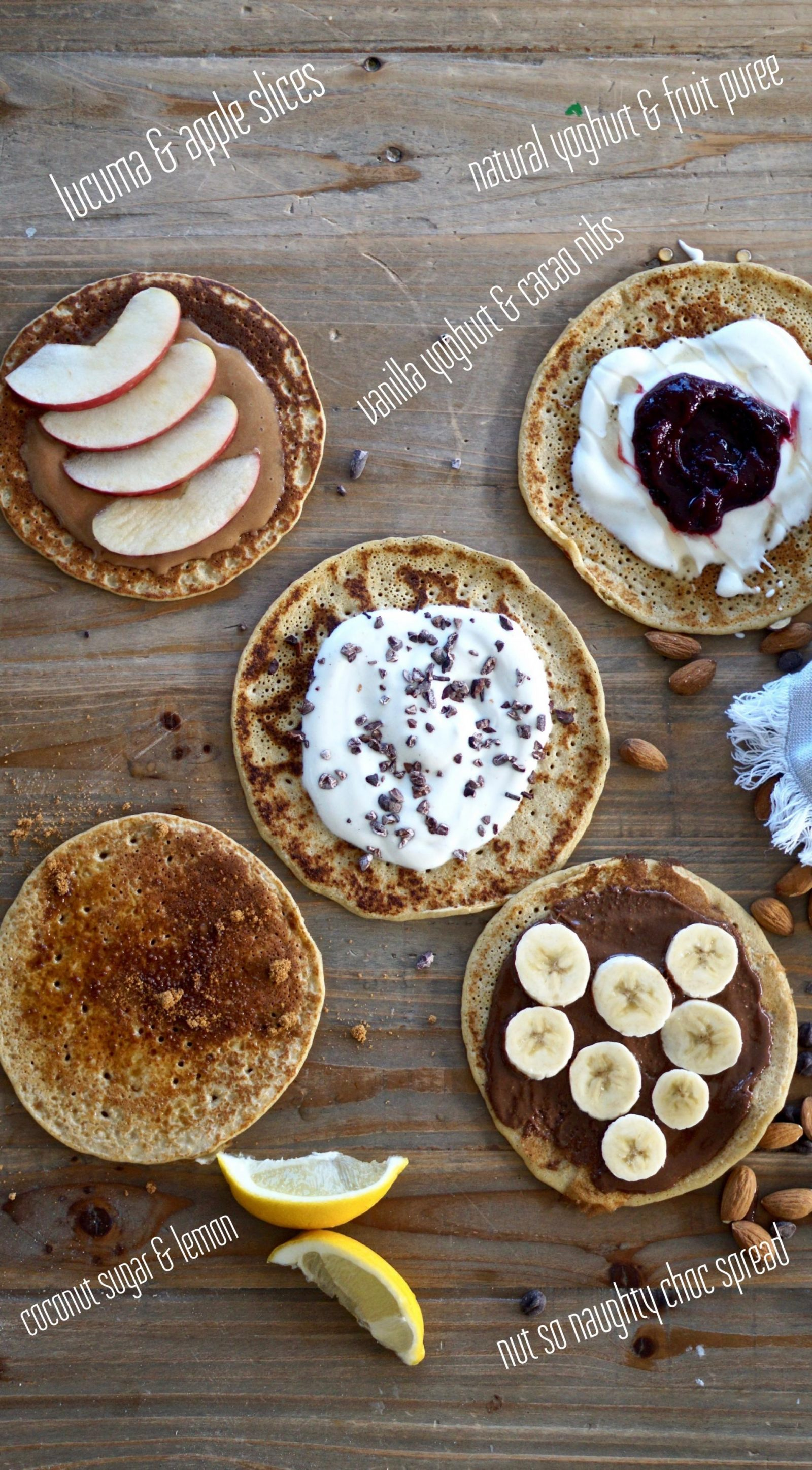 leanmeanmomma pancake toppings