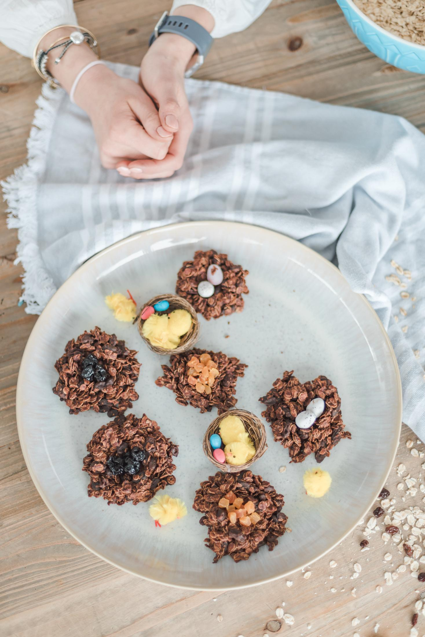 Healthy easter nests vegan sugar free leanmeanmomma