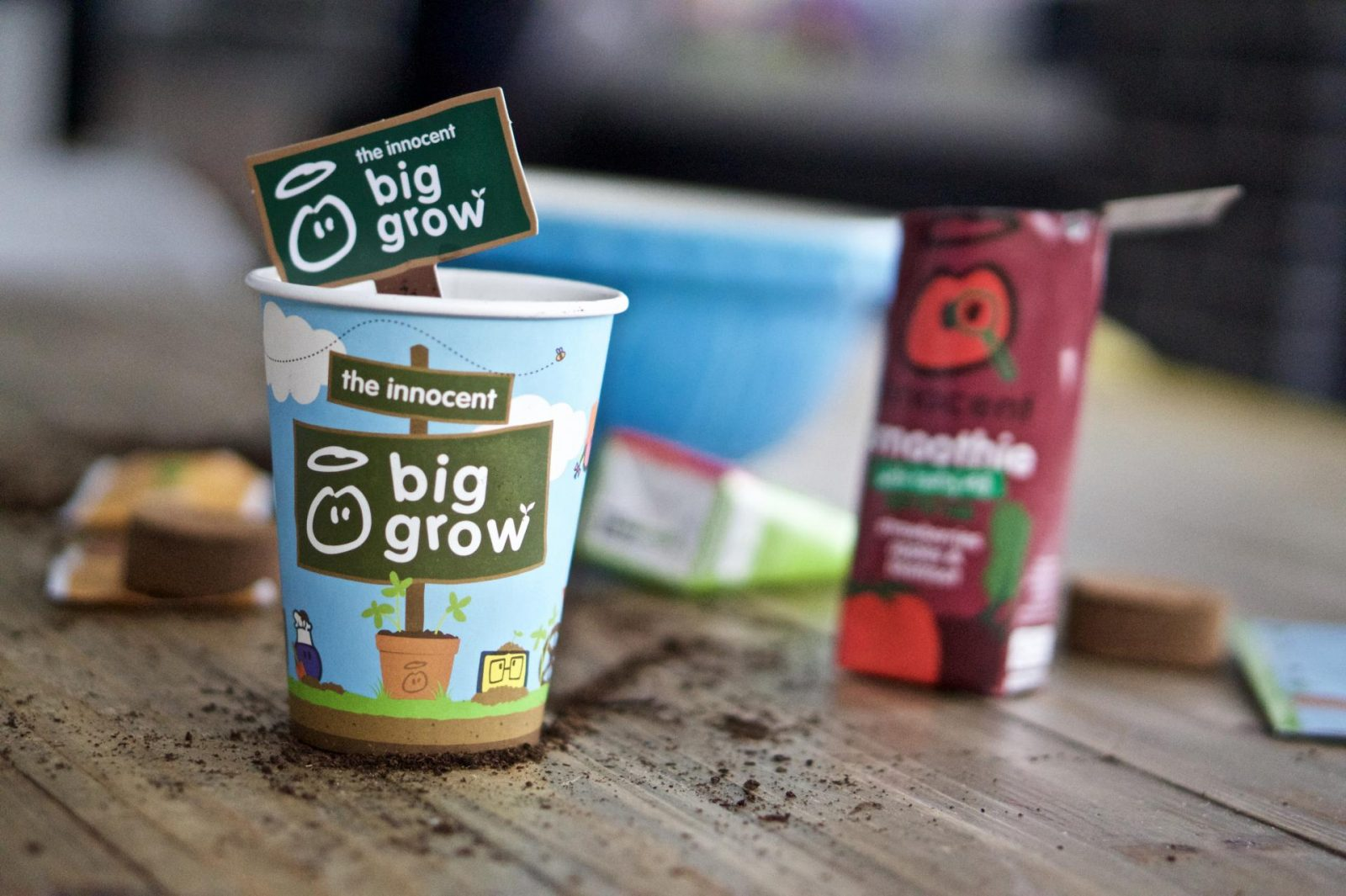 leanmeanmomma innocent drinks big grow peas