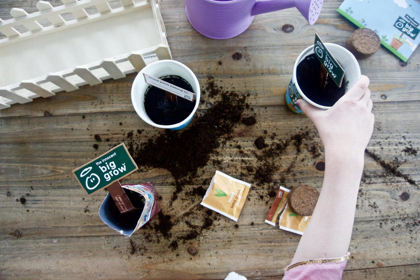 leanmeanmomma innocent drinks big grow peas