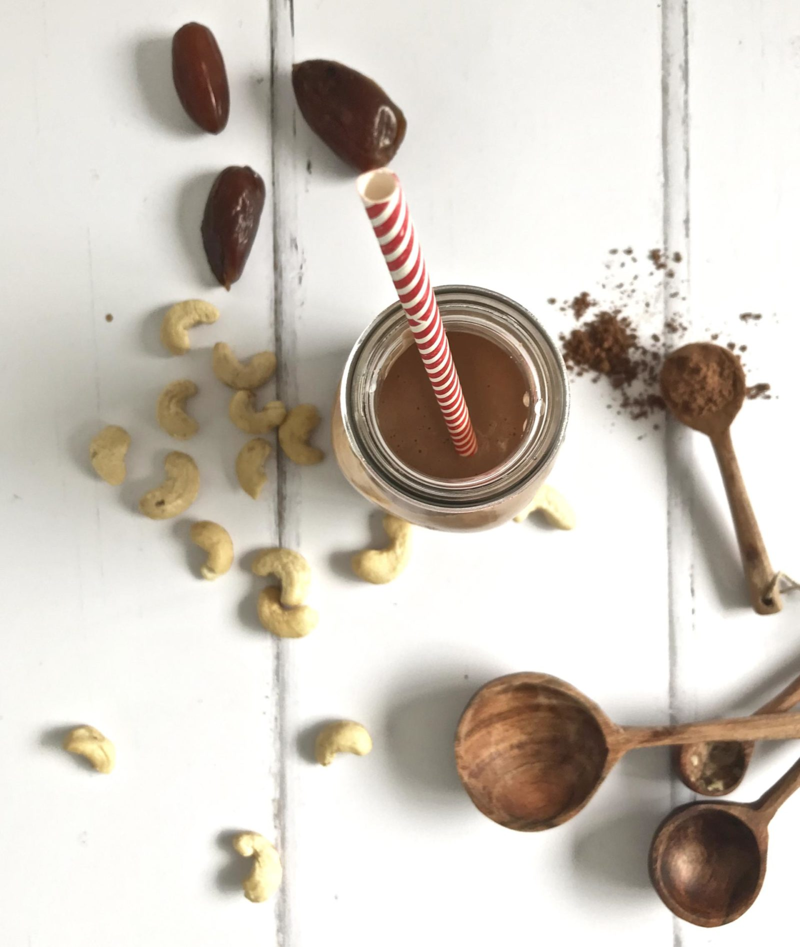 chocolate cashew milk nut milk