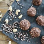 orange chocolate cashew nut balls leanmeanmomma