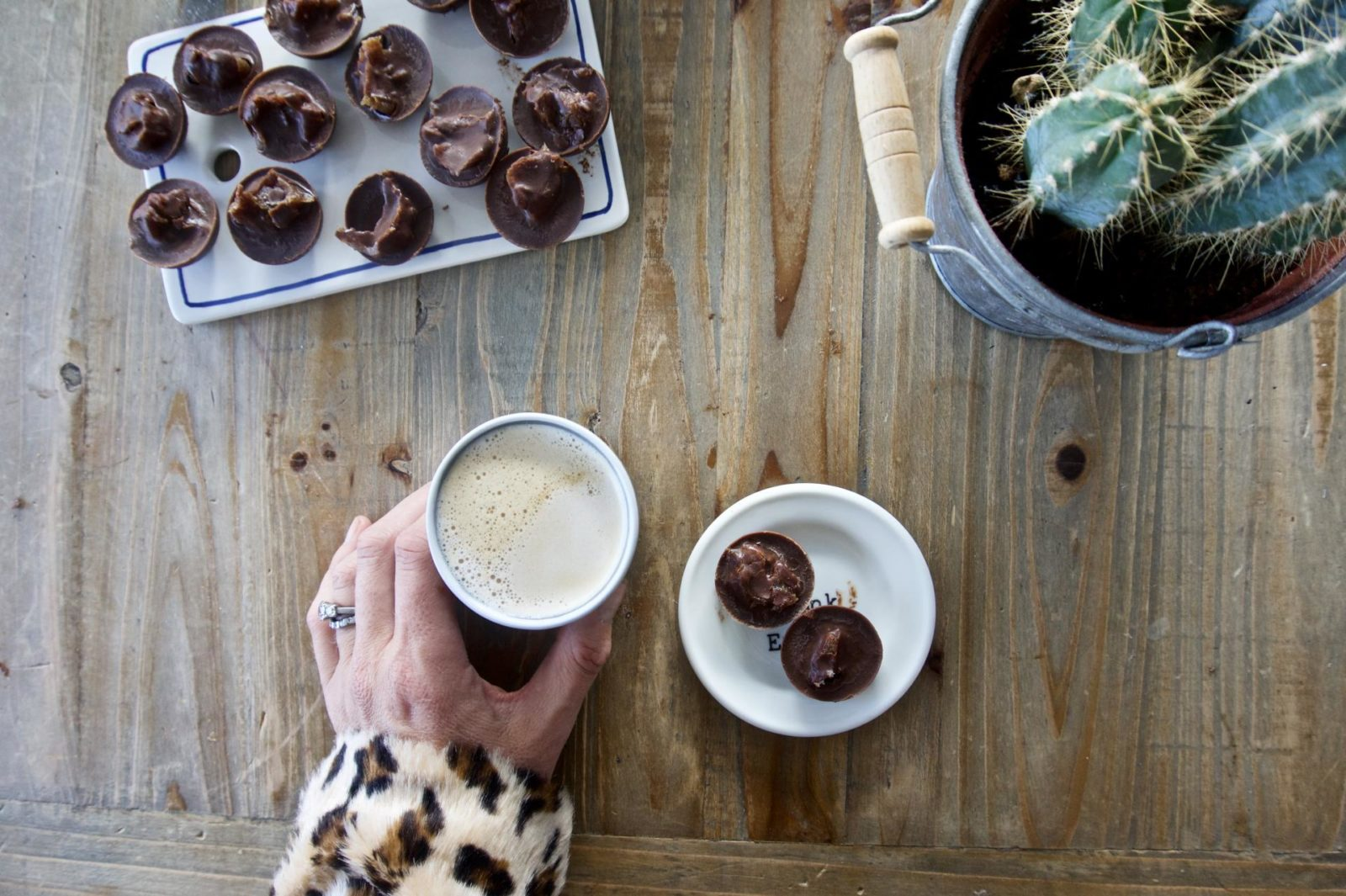 Salted Caramel Chocolate Cups for the win.