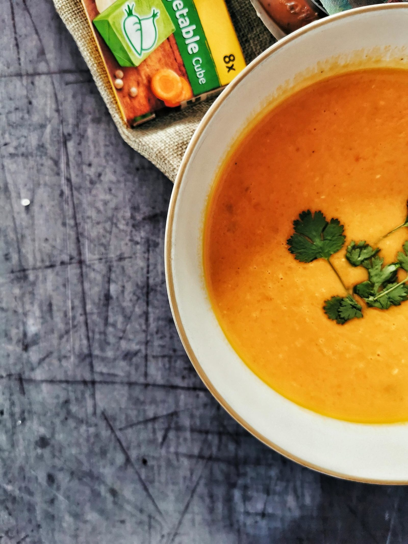 Cliona O'Connor Knorr Stock pot pumpkin soup